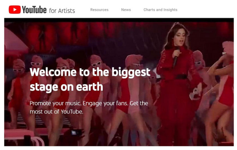 Create The YouTube For Artist Account